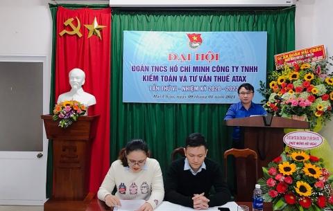 Đại hội Chi đoàn TNCS Hồ Chí Minh ATAX nhiệm kỳ 2020-2022